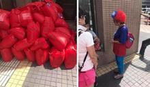 【自掏腰包45萬】發放3000頂國旗假髮 婆婆被大讚:這才是愛台灣