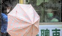 天文台一度發紅雨歷時1小時 港島離島特別大雨