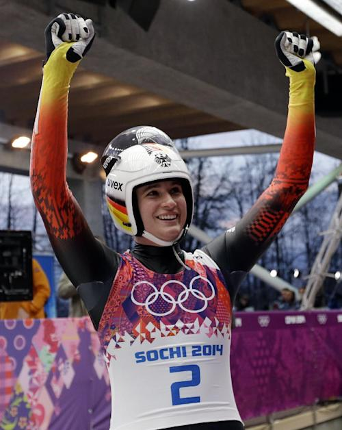 Natalie Geisenberger wins Olympic luge title