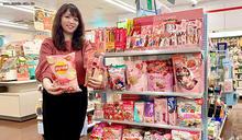 粉紅草莓季夢幻登場 7-11全家冰淇淋開戰