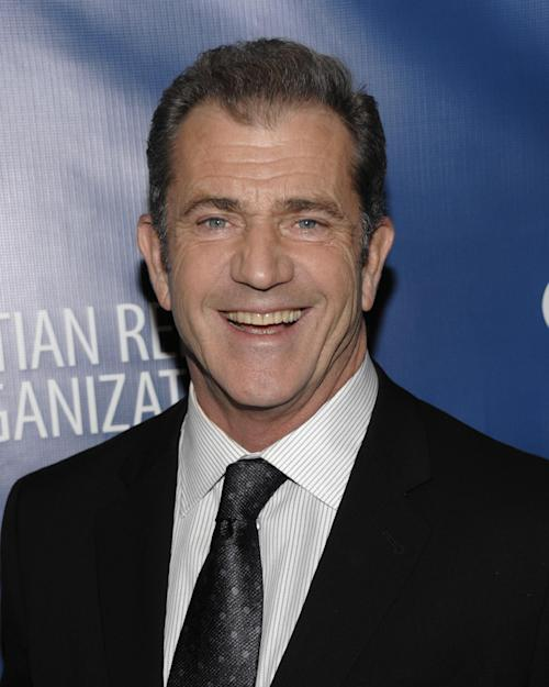 FILE - In this Jan. 12, 2013 file photo, actor Mel Gibson attends the Help Haiti Home Gala at the Montage Hotel in Beverly Hills, Calif. Gibson is among 11 celebrities and government officials whose private financial information appears to have been posted online by a site that began garnering attention on Monday, March 11, 2013. (Photo by Dan Steinberg/Invision/AP, File)