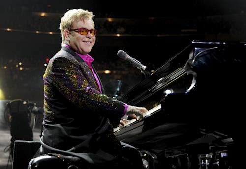 Elton John Condemns Russian Anti-Gay Law at Moscow Concert