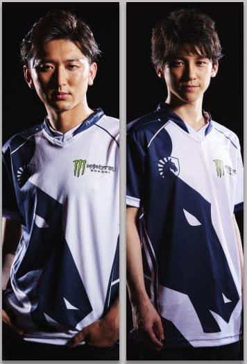 Nemo(左)與John Takeuchi(右)是日本知名《快打旋風》格鬥電競選手。