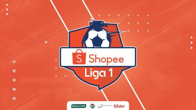 Shopee Liga 1 2020 Logo. (Bola.com/Dody Iryawan)