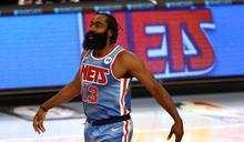 NBA》哈登遞補復出18+11+7 籃網力克馬刺3連勝