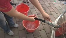台中第2輪限水 百貨業者買水應急
