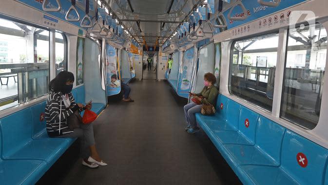 Mulai 27 April 2020, Beli Tiket MRT Jakarta Bisa Lewat Aplikasi