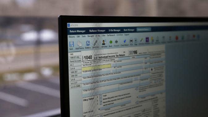 Ilustrasi Komputer. (AP).