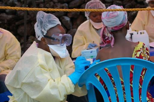 Ebola survivors reunited with family in DR Congo
