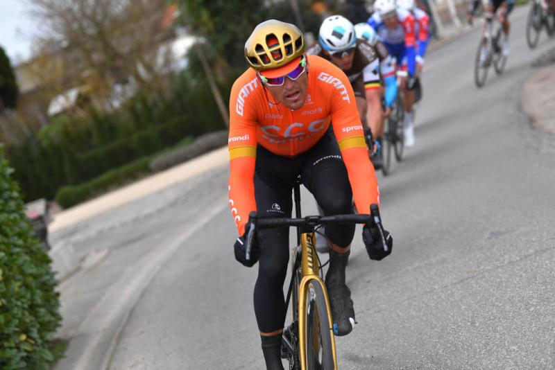 Olympic road race champion Greg Van Avermaet takes on the 2020 Kuurne-Brussel-Kuurne
