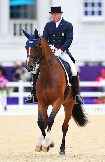 Jan Ebeling of the United States riding Rafalca