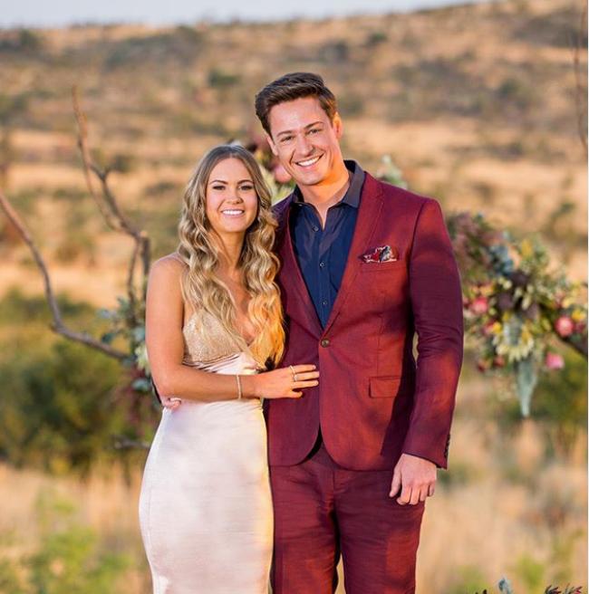 Bachelor Australia Matt and Chelsie