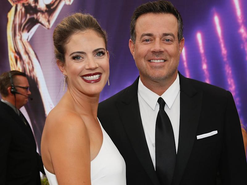 siri pinter and carson daly emmys september 2019