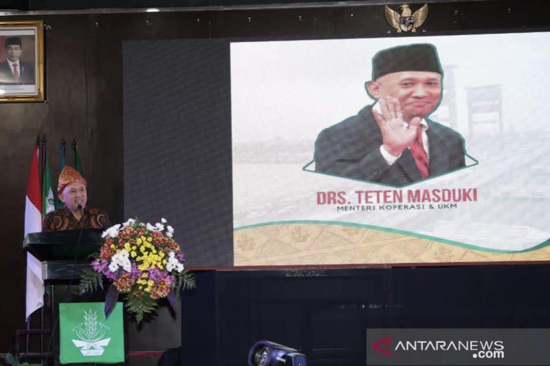 Teten ajak remaja putri Muhammadiyah kembangkan ekonomi syariah
