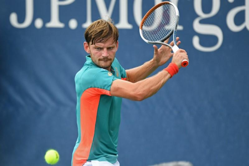 Goffin passes Krajinovic test to reach last-16 in New York