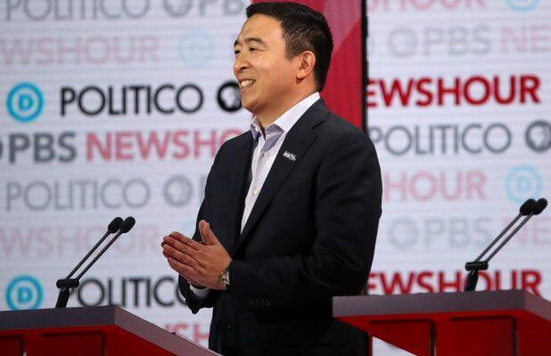 Andrew Yang Shrugs Off CNBC's Apology 'Some Number of Hours Later' for Misidentifying Him