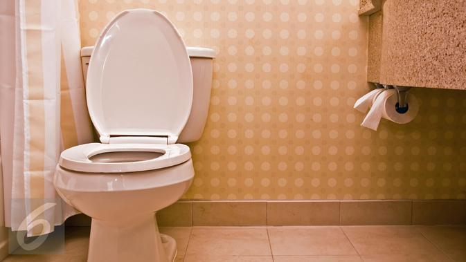 Ilustrasi toilet (iStockphoto)