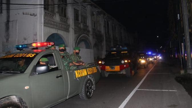 Patroli gabungan dipimpin Kapolrestabes Medan, Kombes Pol. Jhonny Eddizon Isir, dihadiri Wakapolda Sumut, Brigjen Pol. Mardiaz Kusin Dwihananto, dan Pejabat Utama Polda Sumut lainnya.