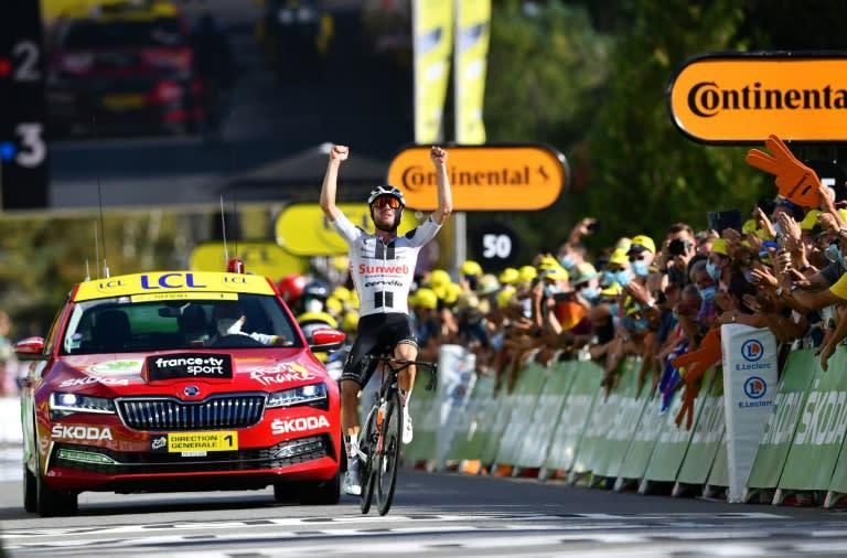 Tour de France nearly man Hirschi tastes victory at last