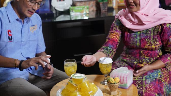 Wow! Omzet Ratusan Juta Pengusaha Carica 'Jemput Rezeki' Bikin Sandiaga Melongo
