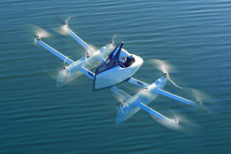 Google co-founder's Kitty Hawk company scraps one of its flying-car projects