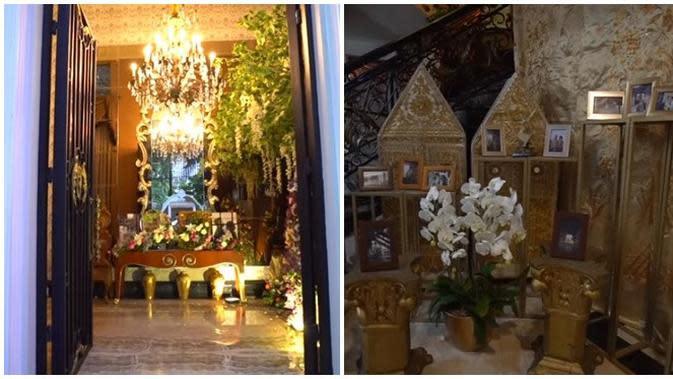 Penampakan Rumah Mewah Tania Nadira, Megah Ada Nuansa Arabnya (sumber:Brilio.com)