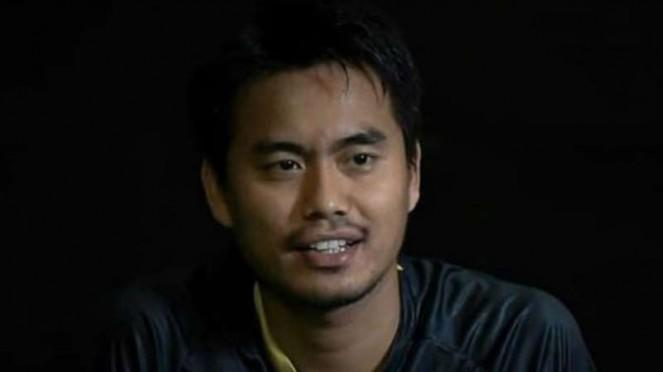 Pemain ganda campuran Indonesia, Tontowi Ahmad.