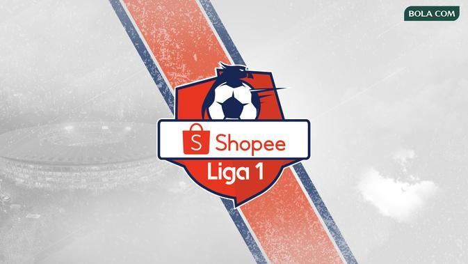 Shopee Liga 1 Logo. (Bola.com/Dody Iryawan)