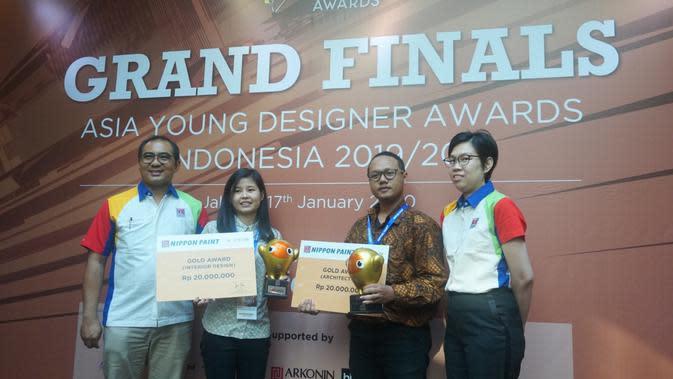 Para pemenang di Asia Young Designer Awards 2019/2020.