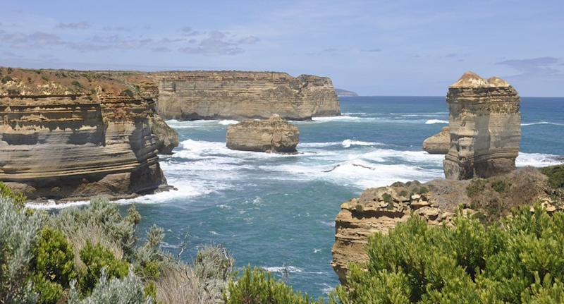 Two missing after rescue boat flips in surf at Port Campbell