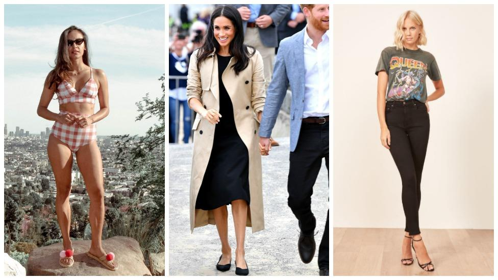 <p>Meghan Markle has thrust sustainable fashion into the spotlight after rocking a pair of black pumps on a Melbourne beach that were made from recycled plastic bottles fished straight from the ocean.<br />But while the former actress has decided to raise awareness about the damage being done to the environment through her well thought out clothing choices, the debate around 'disposable fashion' has been happening for years.<br />In fact, there's heaps of designers who are making stunning shoes, dresses and even swimwear from trashed plastic bottles.<br />Check out our faves here. </p>