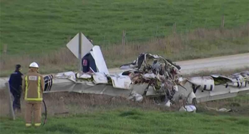 The fatal Angel Flight crash at Mount Gambier, SA, in June 2017, which killed three people.