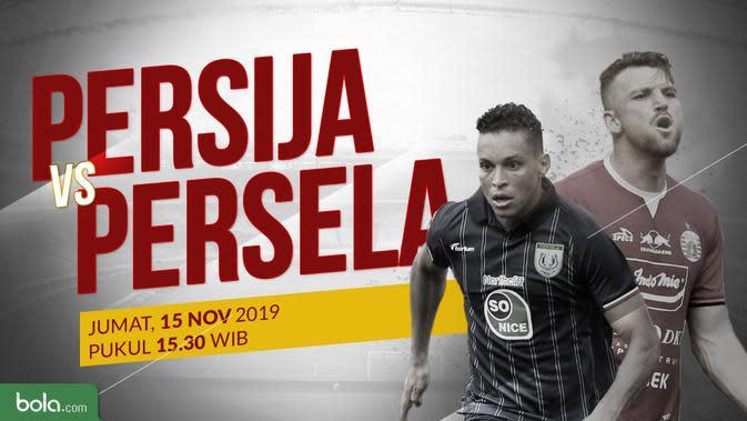 Shopee Liga 1 2019: Persija Jakarta vs Persela Lamongan. (Bola.com/Dody Iryawan)