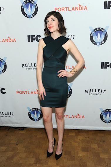 IMAGES DISTRIBUTED FOR IFC - Carrie Brownstein attends the Portlandia Season 4 Premiere Party on Thursday, February, 27, 2014 in New York. (Photo by Diane Bondareff/Invision for IFC/AP Images)
