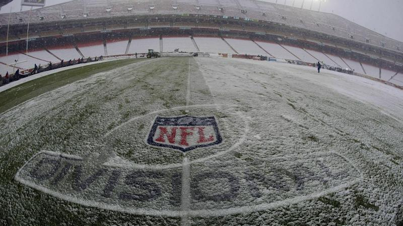 Kansas City have overcome home snow and Indianapolis to be one win away from the NFL Super Bowl