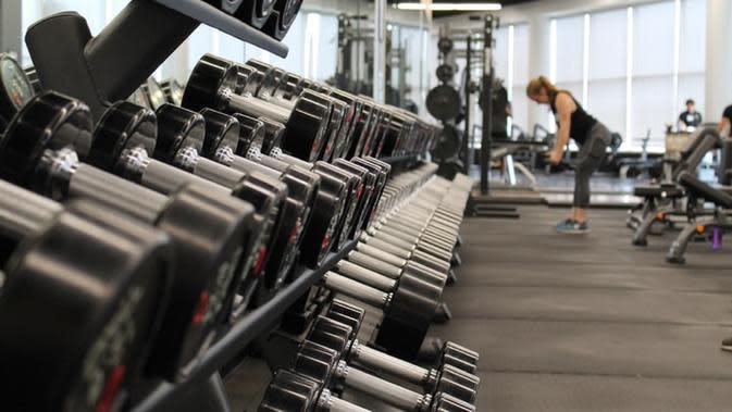Ilustrasi gym (Dok. Unsplash)