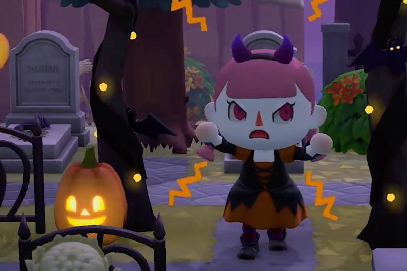 Animal Crossing: New Horizons fall update adds a Halloween event