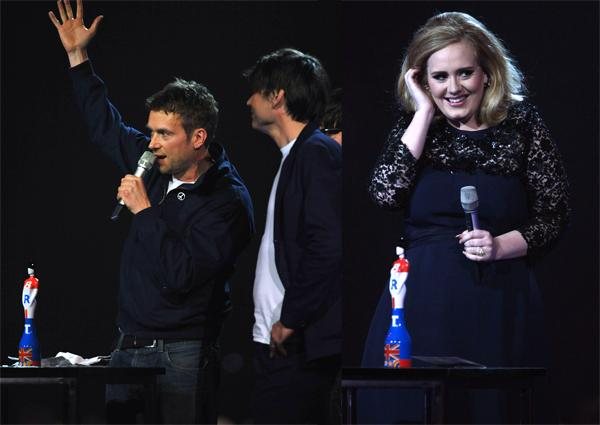 Blur, Adele Win Big at BRIT Awards