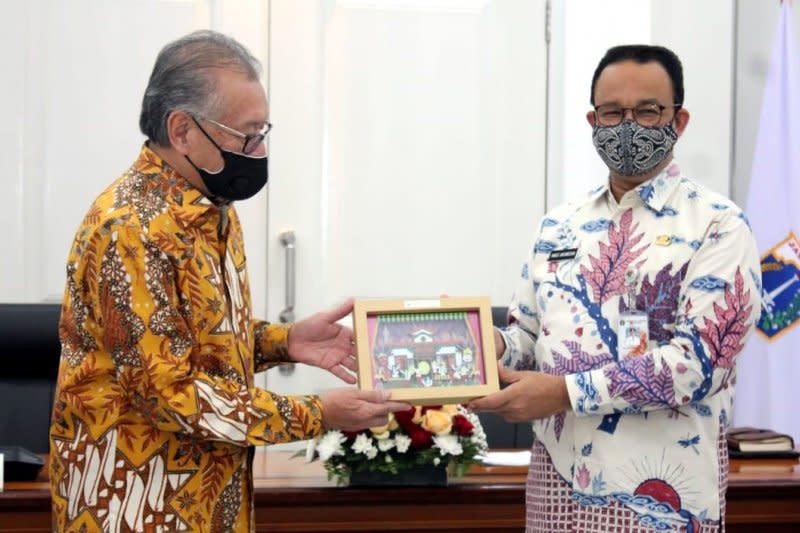 LPS serahkan bantuan penanganan dampak COVID-19 ke Pemprov DKI Jakarta