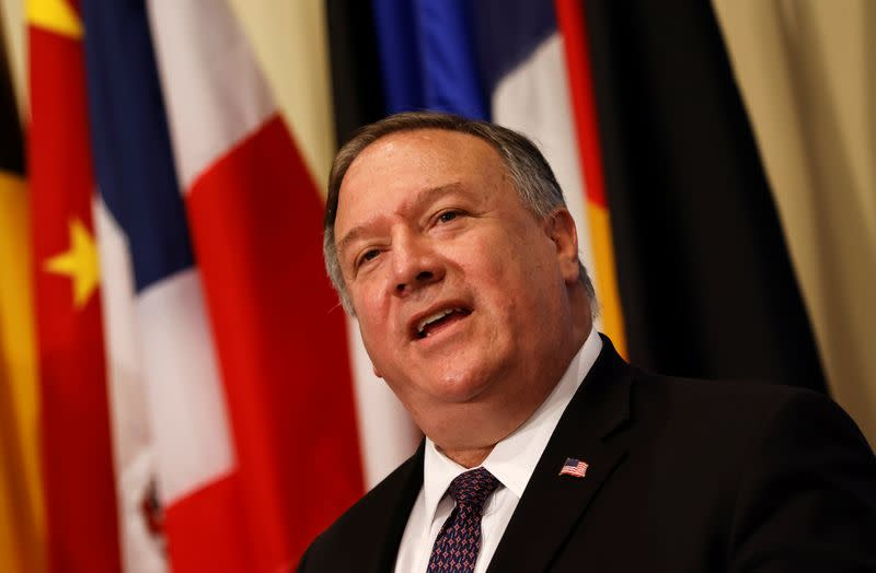 U.S. imposes Iran sanctions, says U.N. penalties resume despite skepticism