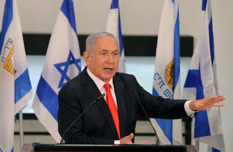 Israel's Netanyahu demands probe of investigators in his corruption trial