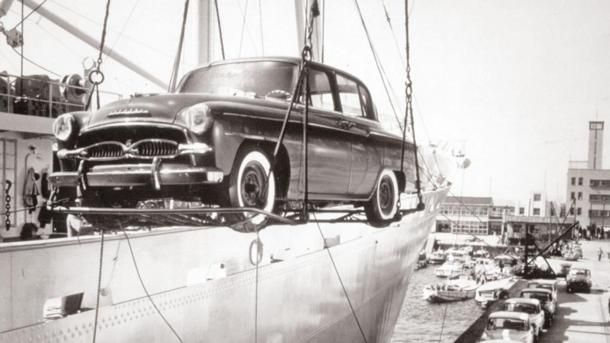 October 31: Toyota arrives in the United States on this date in 1957