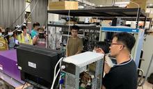 中山大學氣膠女科學家培訓營 雄女學生體驗氣膠實驗設施