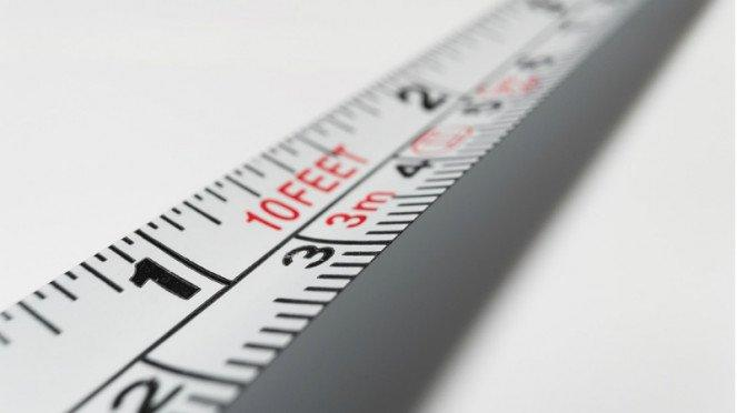 Ilustrasi pengukur tinggi badan