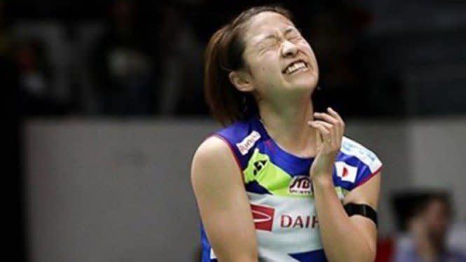 Tragis, Tunggal Putri Jepang Terkapar di Denmark Open