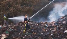 賣擱燒啊! 垃圾場悶燒被煙嗆4天 芬園人爆氣