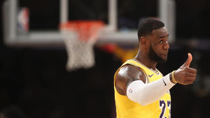 LeBron James (Basket). (AFPSean M. Haffey)