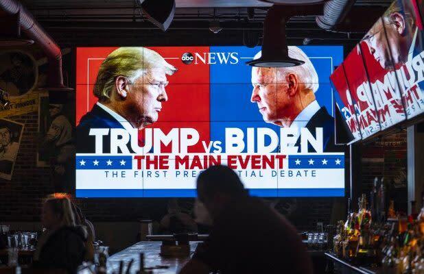 Biden-Trump Debate Broadcast Ratings Drop Sharply From 2016