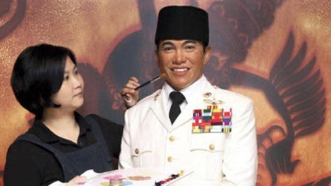 Patung lilin Soekarno di Madame Tussauds Bangkok/ Credit: Merdeka.com