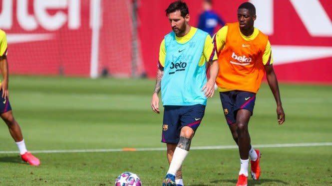 Messi Masih Mau Latihan di Barcelona